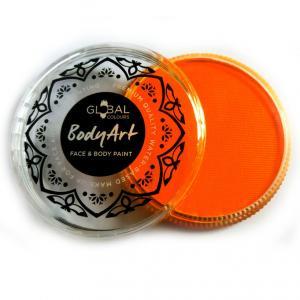 Global аквагрим  неон оранжевый 32 гр
