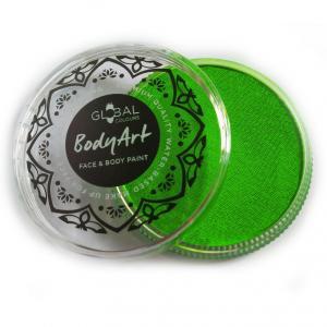 Global аквагрим  неон зеленый 32 гр