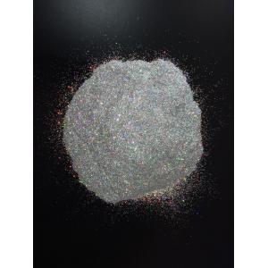 Глитер   лазерный серебро( радужный отлив)   0,2 мм