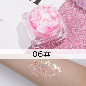 Гель-блеск микс розовый 10 гр