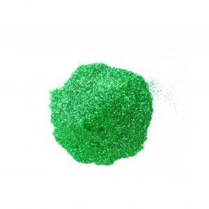 Глитер  зеленый изумрудный непрозрачный 0,2 мм