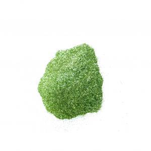 Глитер  зеленое яблоко непрозрачный 0,2 мм