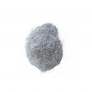Глитер   серебро  непрозрачный 0,2 мм