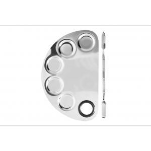 Набор палитра для смешивания текстур, металлический шпатель