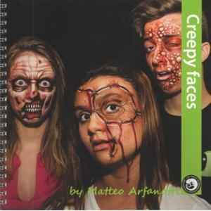 Книга для обучения фейс-арта (для начинающих)  Матео Афранотти