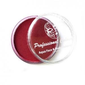 Аквагрим Professional Colors красный темный 32 гр
