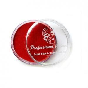 Аквагрим Professional Colors красный рубиновый 32 гр