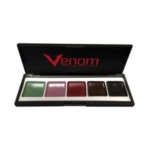 Палитра спирт Europian body-art Venom SFX для зубов 5 цветов