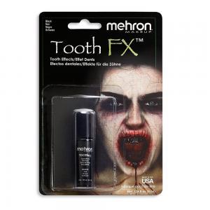 Mehron эмаль для зубов черный цвет 7,5 мл