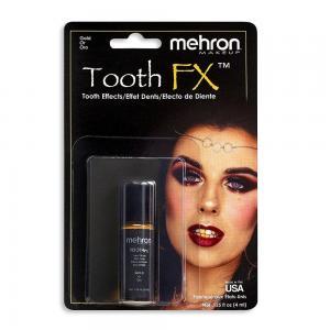Mehron эмаль для зубов золото цвет 7,5 мл