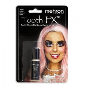 Mehron эмаль для зубов белый цвет 7,5 мл