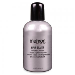 Mehron краска для волос  серебро  133 мл
