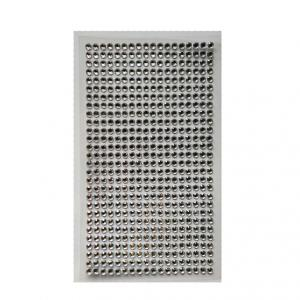 Стразы самоклеющиеся белые 2,5 мм