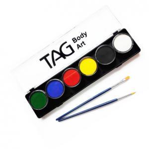 Аквагрим TAG  палитра базовая 6 цветов