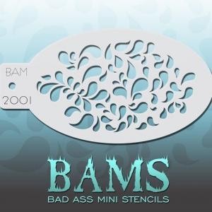 BAM трафареты многоразовые 2001