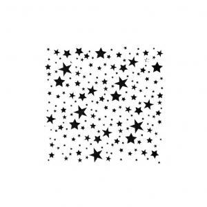 Трафареты многоразовые Звездочки россыпью