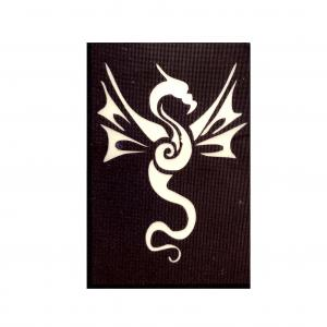 Трафарет дракон 12