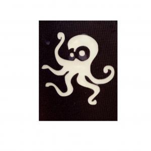 Трафарет осьминожка
