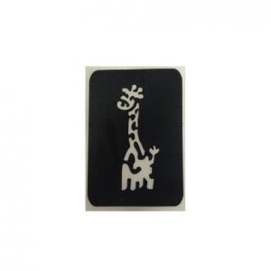 Трафарет   жирафик