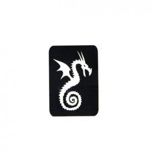 Трафарет дракон 3