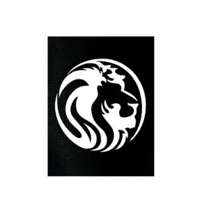 Трафарет лев 2